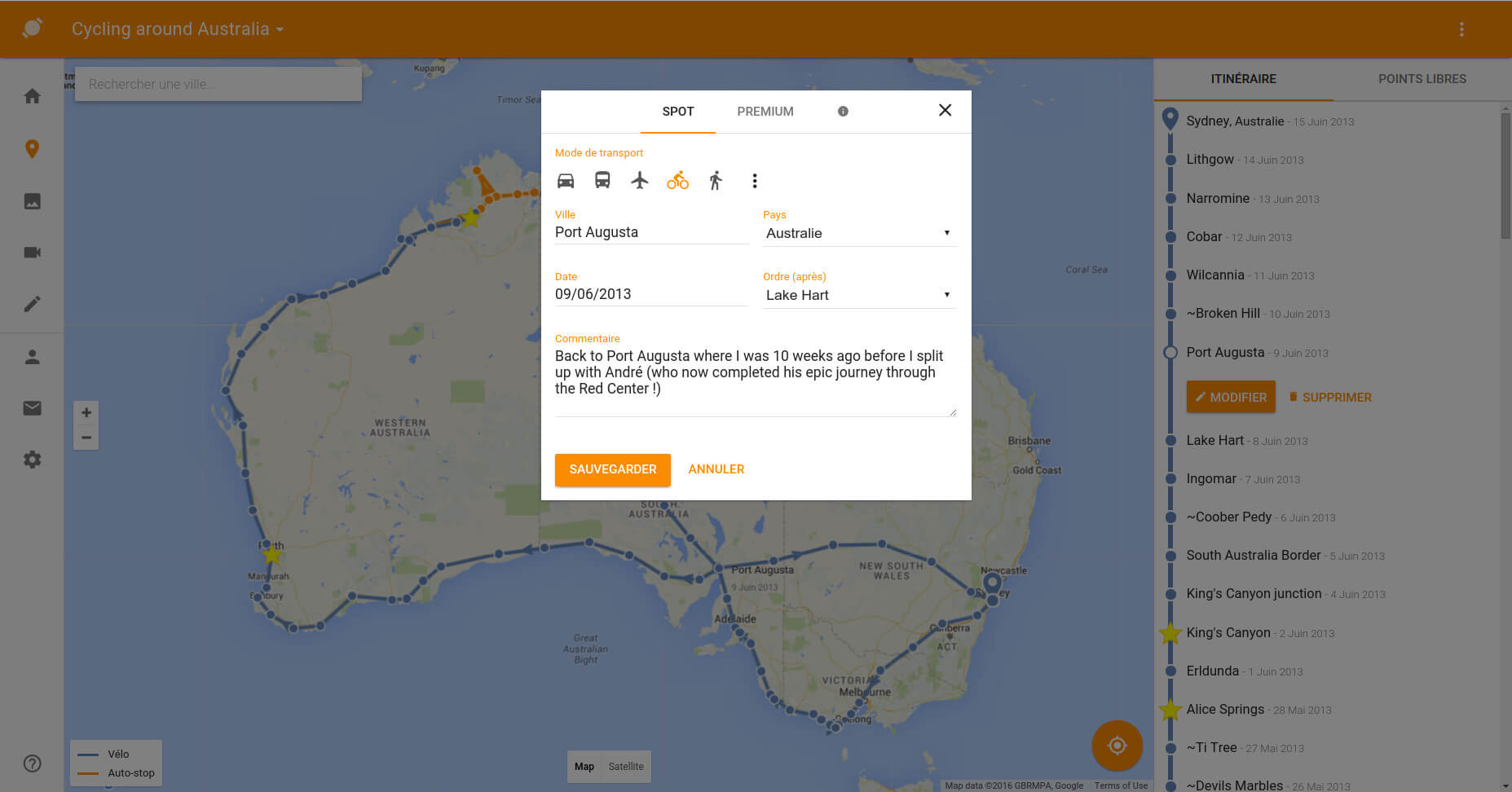 your travel blog centered on an interactive map travelmap