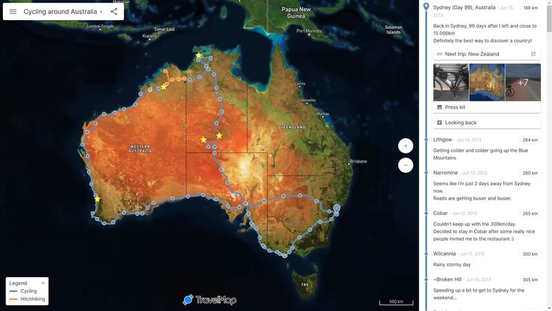 Your Travel Blog centered on an Interactive Map - TravelMap on asian australia map, creative australia map, international australia map, fun australia map, interesting australia map, professional australia map, realistic australia map, print australia map, funny australia map, simple australia map, graphic australia map, black australia map, 3d australia map, resources australia map, art australia map,